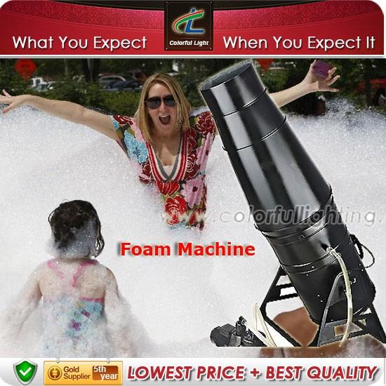 Newest club/party foam machine stage effect like snow machine