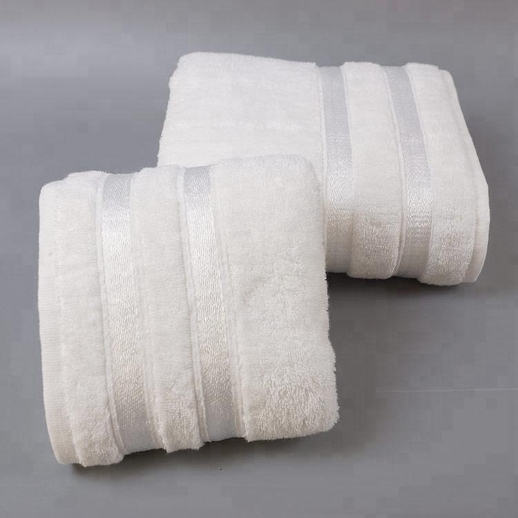 100% Cotton Custom White Terry Hotel Bath Towels China Manufacturer