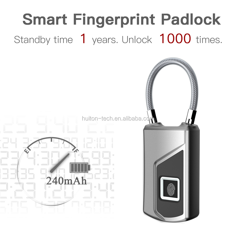 L1 Hot Sale IP65 Waterproof  travel fingerprint lock