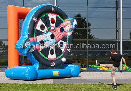 funny inflatable dartboard,Inflatable soccer darts for sale