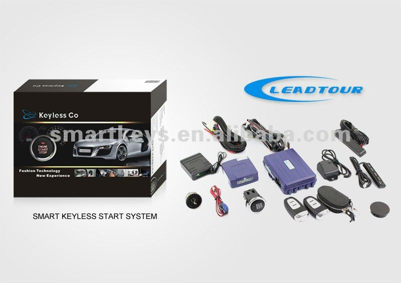 Auto Remote Control Keyless Entry System With Smart Key For Toyota