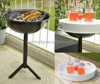 Esschert Design Balcony Charcoal Bar B Q