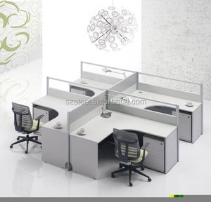 Series Office Furniture-open cross workstation/office desk /private office with aluminum connector