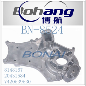 Bonai Trucks Spare Part Aluminum RE NAULT TRUCK WATER PUMP HOUSING (8148167/20431584/7420539530)