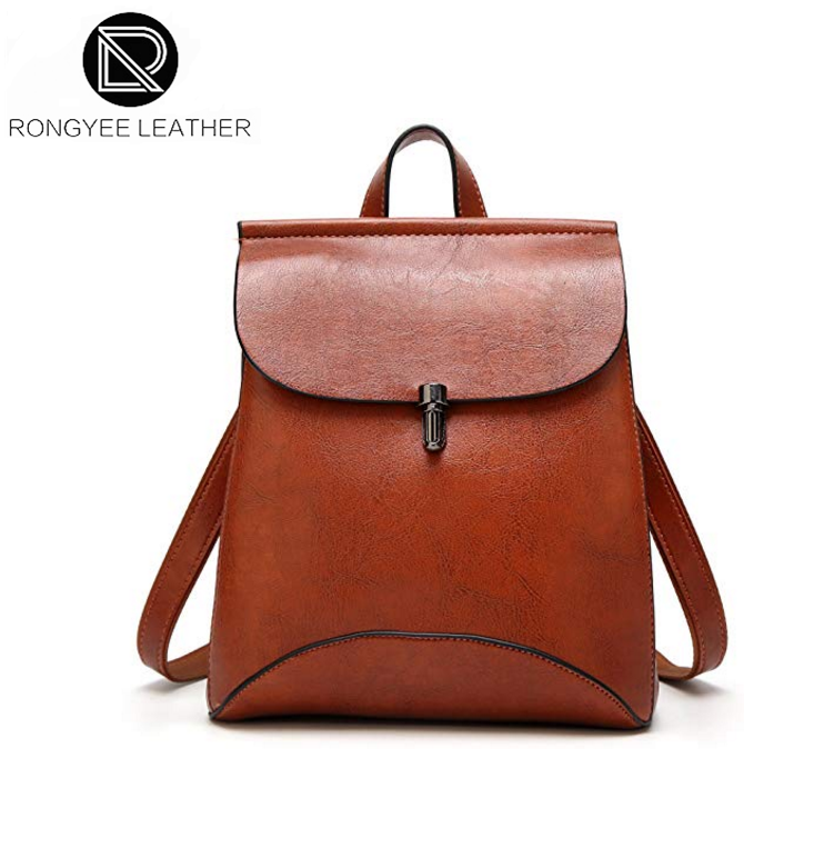 1614a49c3a7c Black Leather Backpack Purse Wholesale
