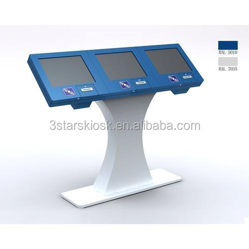 multiple- screen ipad enclosure kiosk stand