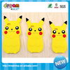 Fancy 3D Pokemon cartoon shape eco-friendly silicone cell phone case cover for iphone 7