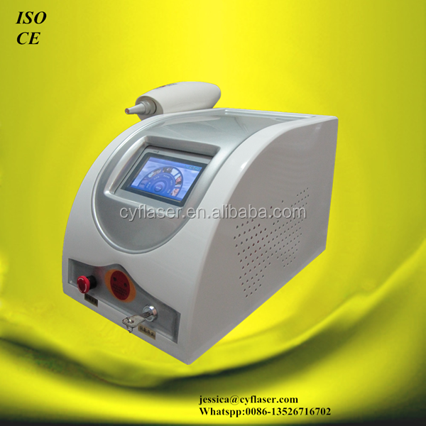 "approval CE 8""true color touch screen laser tattoo removal"