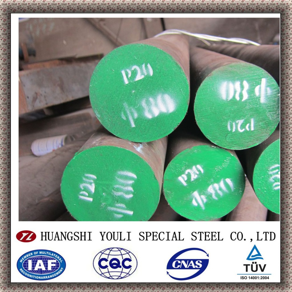 gh Quality Mould Steel P20+Ni/ DIN1.2738/718