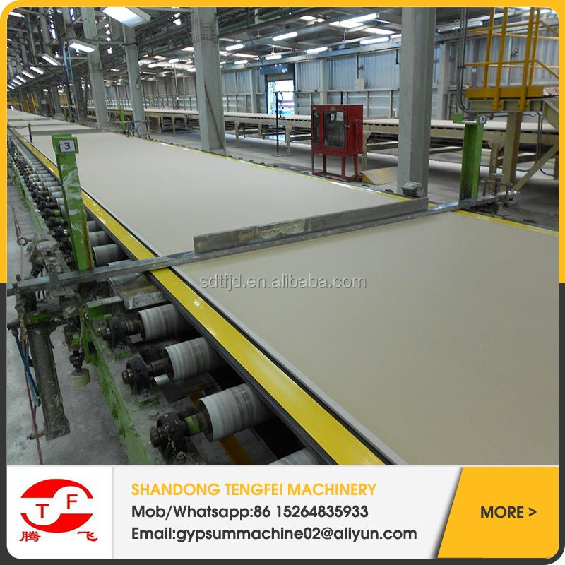 Gypsum ceiling tiles machine, PVC laminated machine 595x595,600x600,603x603 with reasonable price