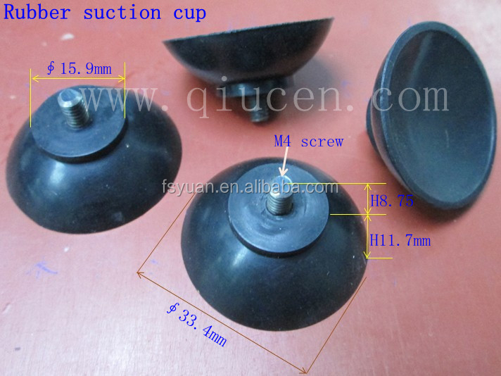 plastic and clear suction cup /silicon rubber and big suction cup/big and strong suction cup for car mirror
