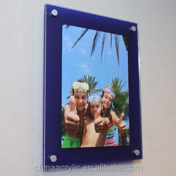 Wholesale Customized 8x10 Clear Acrylic Wall Mounted Magnetic Poster ...
