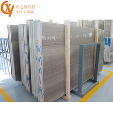 Price of Italian Statuario Marble Gray Wood Marble Slab for Hall Wall Tiles
