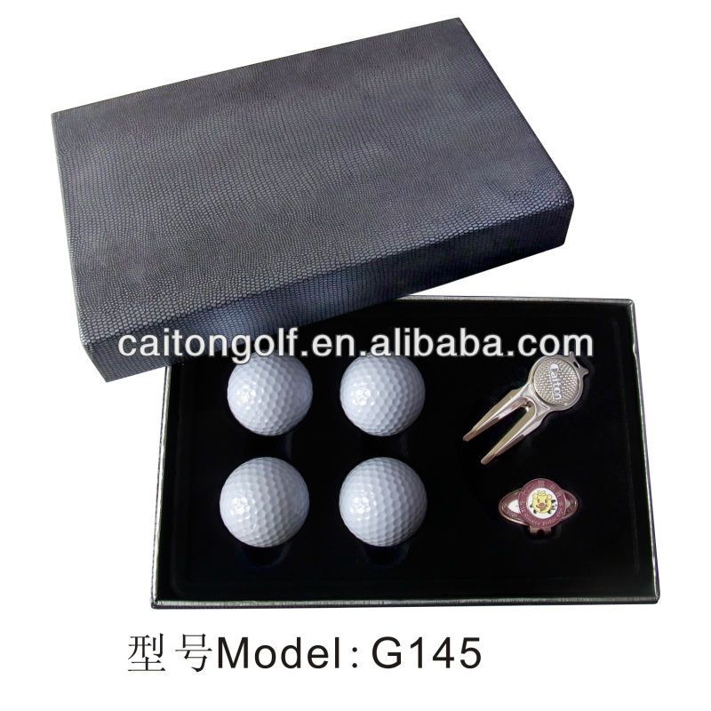 Manufacture New Promotion Golf Gift Set, Custom golf accessory of golf gift sets G145
