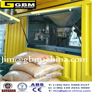 Containerized Mobile Weighing and Bagging machine on Port