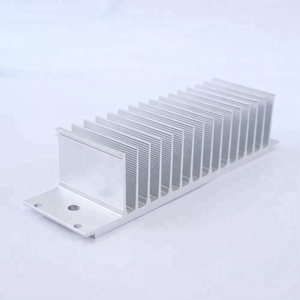 factory cheap price round led aluminium alloy extrusion extruded heat sink heatsink extrusion for export