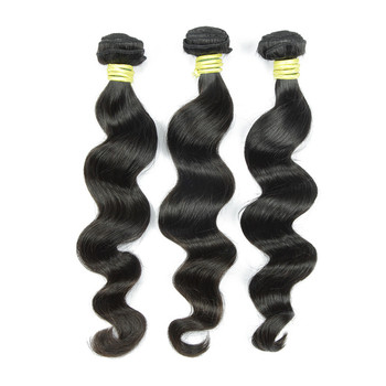 Pure One Donor 3 Pcs A Lot 18 Inch100% Virgin Remy Brazilian Human Hair