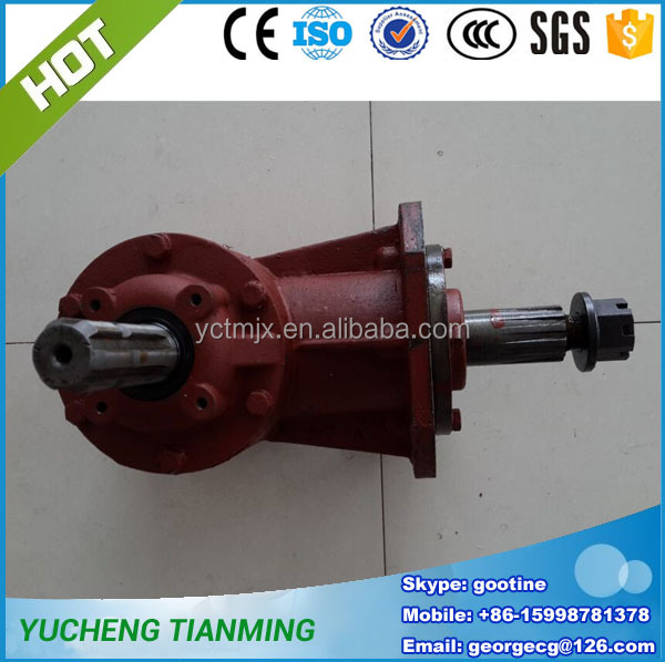Tractor rotary grass mower gearbox spare parts for sale