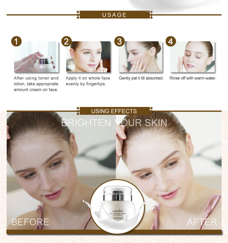 OEM/ODM mole removal face nourish bleaching cream