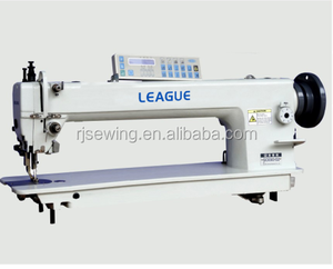 LG-0303-D2-HL One-needle Long Arm Bottom Feed Walking Foot Auto-Lubrication And Computer-Controlled Lockstitch Sewing Machine
