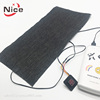 5V Rechargeable Battery Powered Carbon Fiber Small Electric Infrared Heating Pad