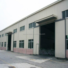 Factory price fabricated two story steel structure warehouse