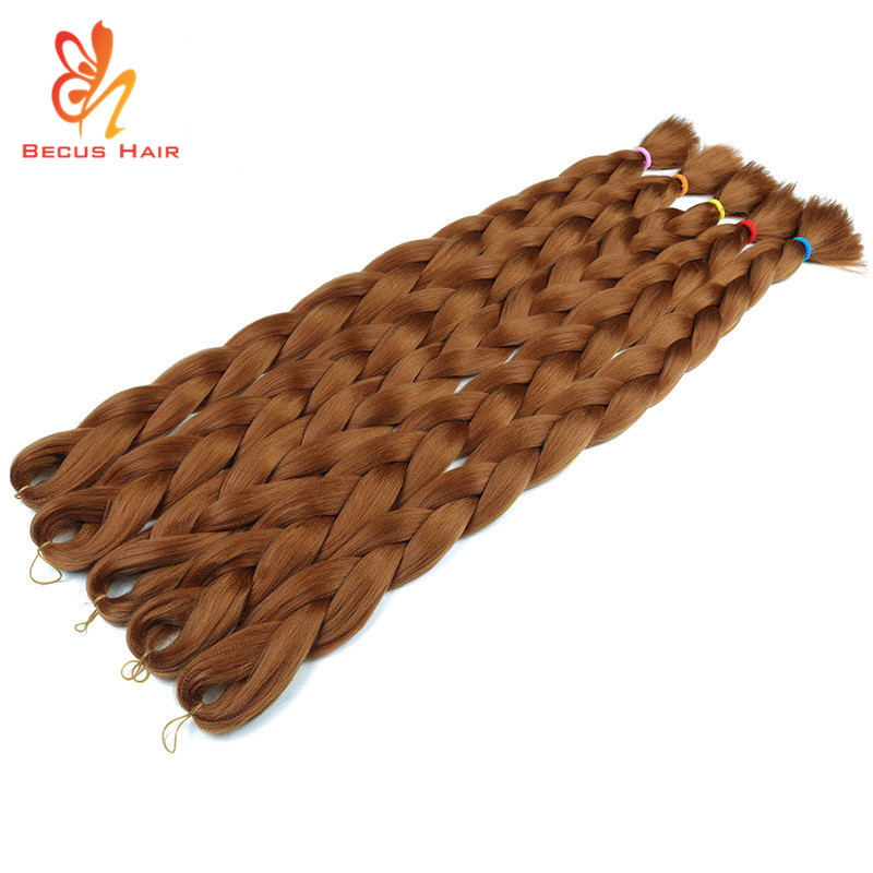 Cheap price synthetic hair braiding 165g xpression