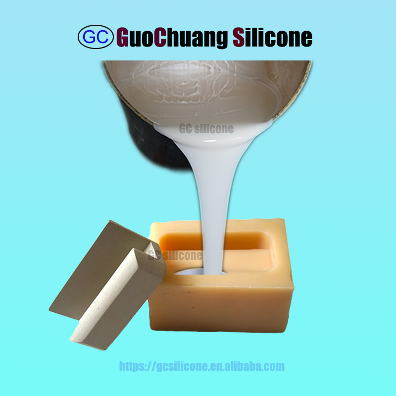 mold making rtv-2 liquid silicone rubber for concrete stone gypsum GRC molds