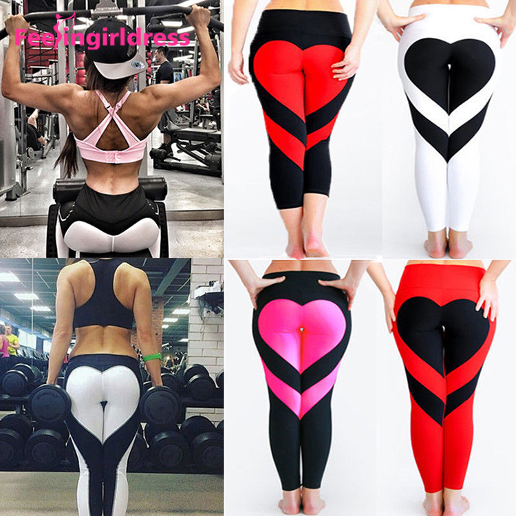 Custom Logo Sexy Ladies Printed Leggings Sex Tights Leggings With Pocket In Bulk Yoga Pants Women Fitness