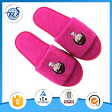 High quality open toe hotel slippers