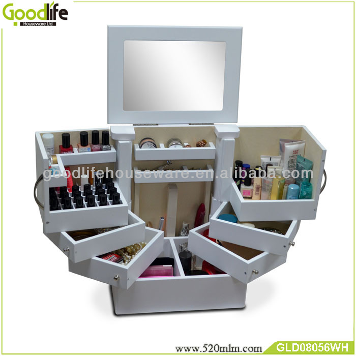 Goodlife Makeup Storage Drawers Wooden Crate From Goodlife   Buy Wooden  Crate,Glass Storage Crates,Gift Wood Crate Product On Alibaba.com