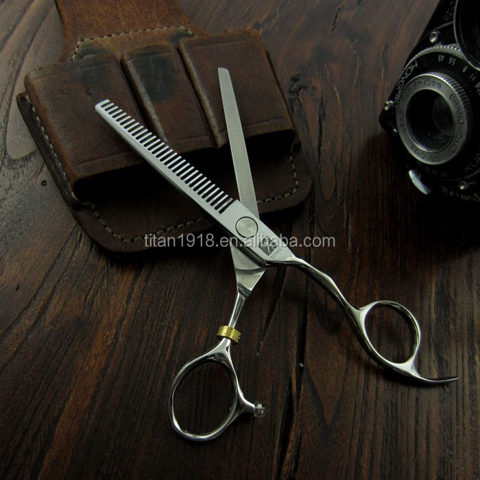 professional hair scissors 44c steel hand made sharp beard ball screw hair tools