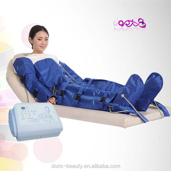 Cosmetology equipment pressotherapy pressure suit lymphatic drainage body massage training