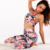 Hot Selling Four Needle Six Line Stitching Women Fitness Yoga Wear Clothing Pants and Bra Set