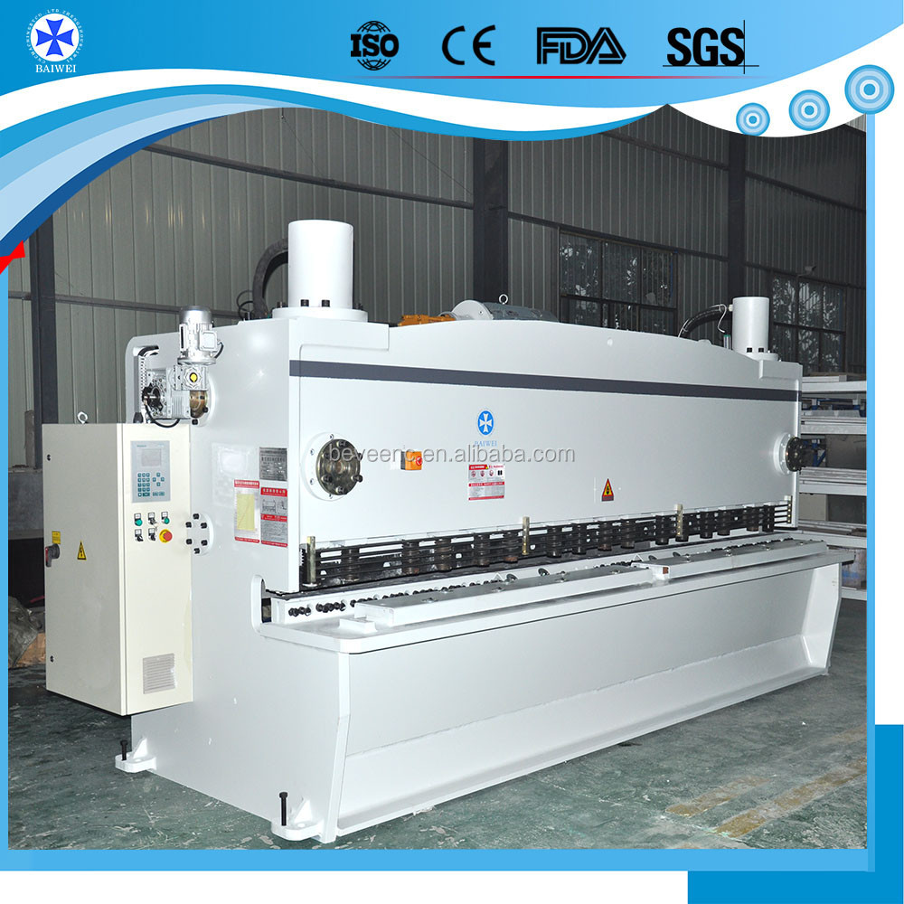 2017 Hot New Products Hydraulic Shearing Machine for steel, plate