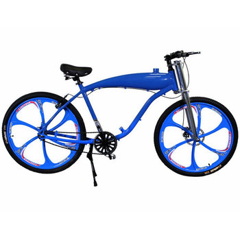 Wholesale 26\'\' Wheel Aluminum Alloy Gas Tank Frame Motorized Bicycle ...