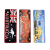 2019 new product custom OEM personalized souvenir Australia car number license plate hide