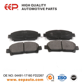 Toyota Brake Pads >> Brake Disc Pads For Toyota 04491 17160 Fd2267 Buy Brake Disc Pads Disc Pads For Toyota Brake Pads For Toyota Product On Alibaba Com