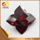 Wholesale high quality red flower shape cz gemstone jewelry