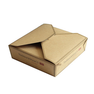 Luxury custom design hole punch packing paper box for gift