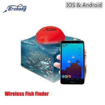 Smart sonar fish finder erchang portable wireless for Bluetooth fish finder