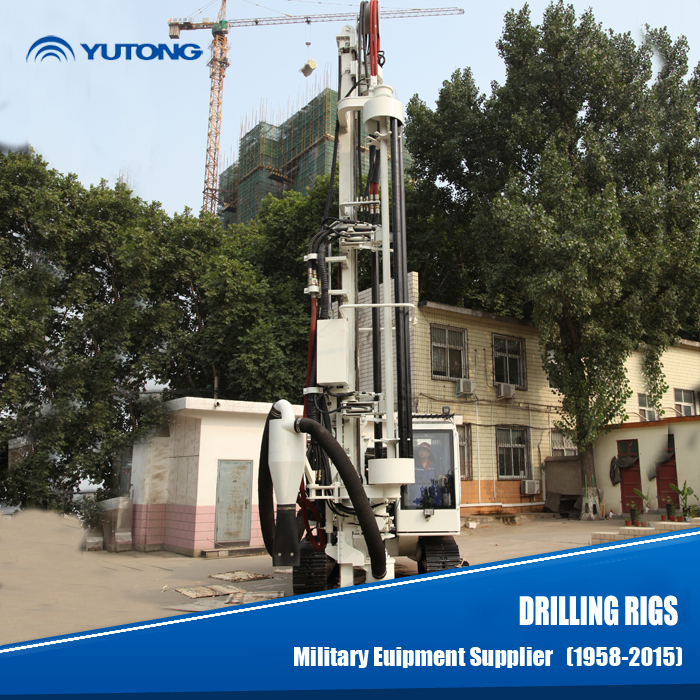 YUTONG 30m Military Quality Vertical Rock Drill Machine