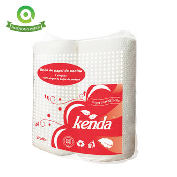 Fast-Drying Absorbency Perforated Kitchen Paper Towels