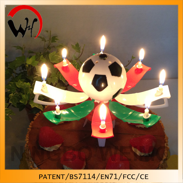 Patent music candle manufactures of birthday candles