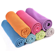 Sweat absorption outdoor sports microfiber ice cooling super towel magic