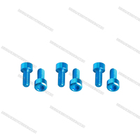 7075 Aluminum Socket Cap Head Super Light Screws, Support Customized for FPV Drone