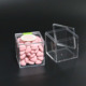 manufacturer clear acrylic box plexiglass small mini wedding candy box with lid