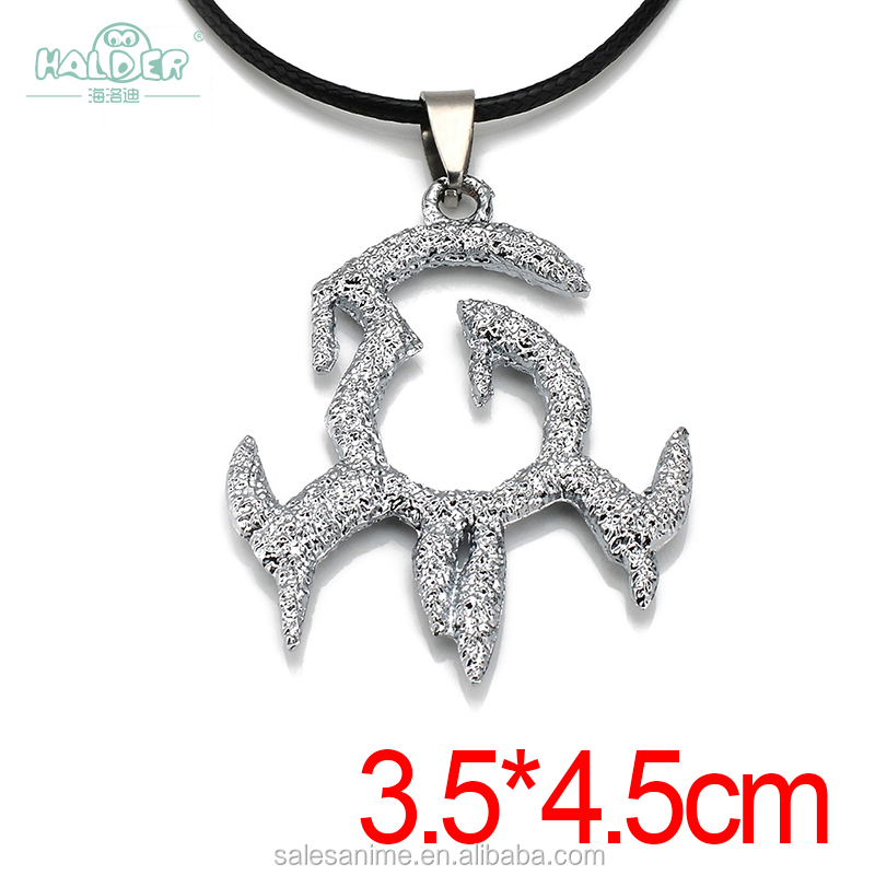 Wholesale hot selling stainless steel Dot a2 Aurgelmir Frozen Sigil Alloy pendant men women gift Necklace