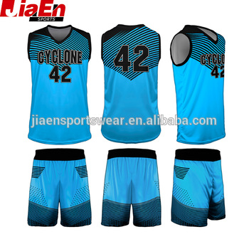 beef28983a2 2017 team college basketball uniform design latest basketball jersey  uniform design color blue
