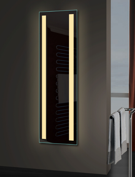 Modern Style Bathroom Led Full Length Lighting Mirror For